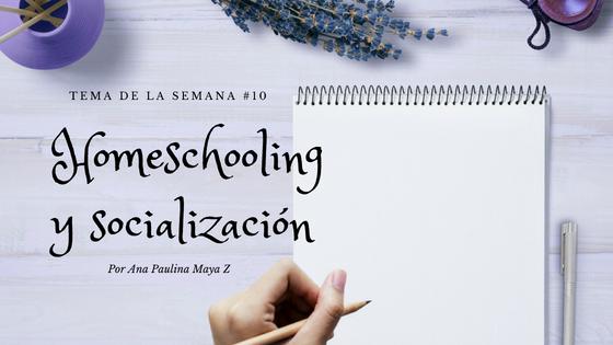 Homeschooling y socialización